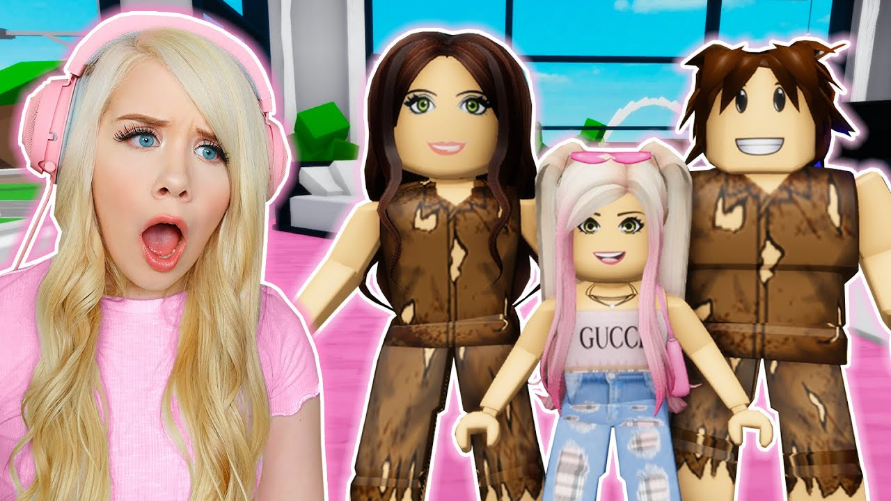Download RICH BRAT GETS ADOPTED BY POOR FAMILY IN BROOKHAVEN! (ROBLOX BROOKHAVEN RP)