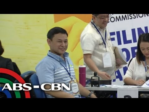 WATCH: Sonny Angara files COC seeking re-election | 16 October 2018
