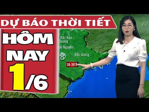 Dự báo thời tiết hôm nay mới nhất ngày 1/6/2021 | Dự báo thời tiết 3 ngày tới