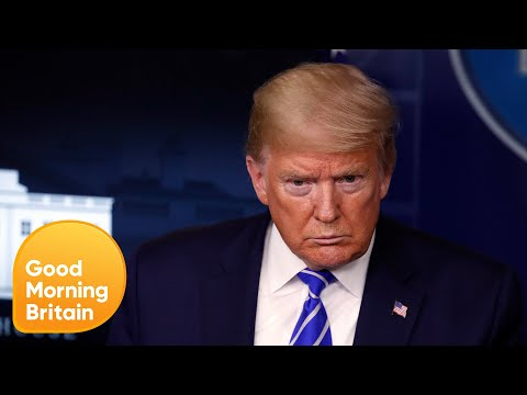 Donald Trump Takes Unproven Drug & Dr Hilary Is Not Impressed! | Good Morning Britain