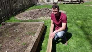Building A Raised Bed Garden - Part 2 Of 3 - Site Location & Construction