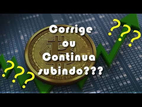 Análise Bitcoin - BTC - 09/05/2019 - Vai corrigir ou continuar subindo????