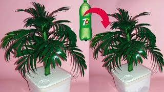 Make Wonderful Tree with Plastic Bottle    Crafts With Plastic Bottle   dustu pakhe