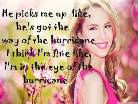Bridgit Mendler - Hurricane (Lyrics On Screen)