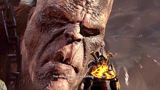 God of War 3 Remastered Walkthrough Cronos Boss Fight Ep 12