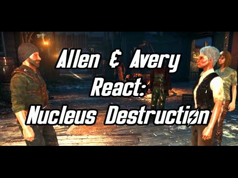 Fallout 4 Far Harbor - Allen and Avery React to Nucleus Exploding/Children of Atom Dying