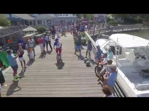 2016 Ed Whitlatch Memorial Bike Jump Fair Harbor Fire Island ( Drone )