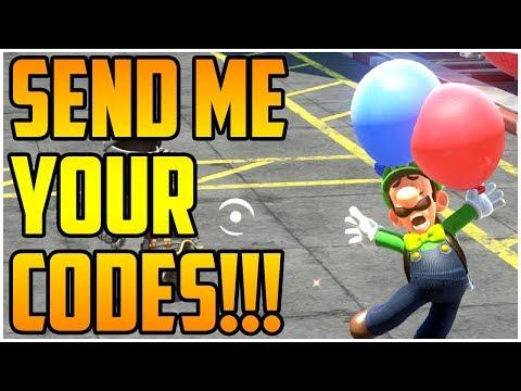 Balloon World - Super Mario Odyssey - SEND ME YOUR CODES!