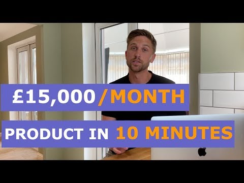 🔥 INSANE Amazon FBA Product Research 2019 Secret That Found A £15,000/Month Product In 10 Minutes!