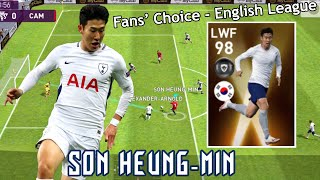 Review Featured Player LWF 98 Rating SON HEUNG-MIN - Pes 2020 Mobile