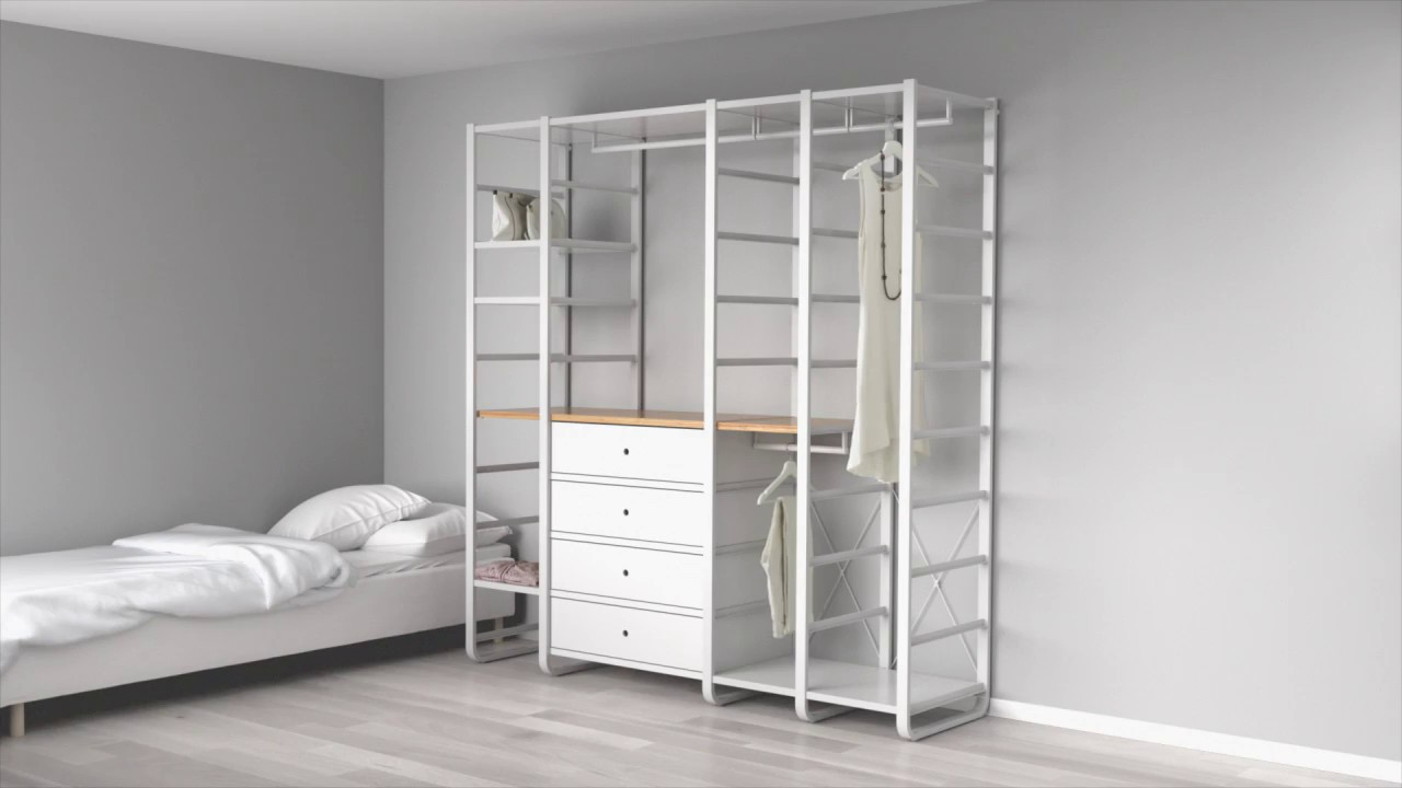 elvarli clothing storage for any space youtube. Black Bedroom Furniture Sets. Home Design Ideas