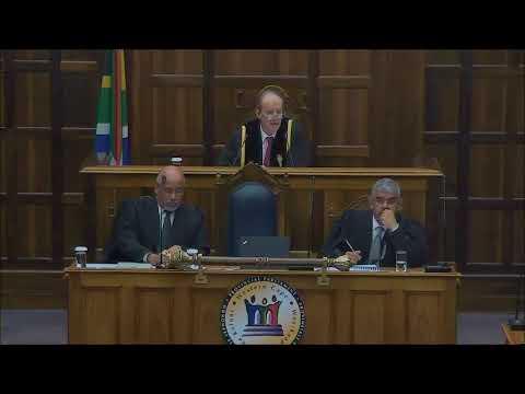 Sitting of the House 14 September 2017