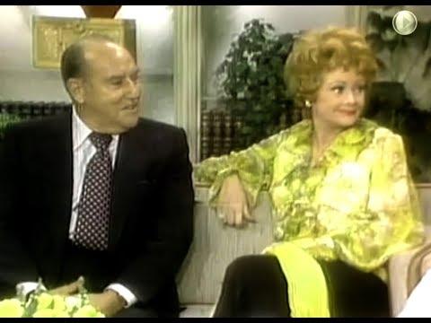 Lucille Ball on Dinah Shore Show - w Gale Gordon Carol Burnett 1976