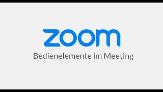 Bedienelemente im Meeting