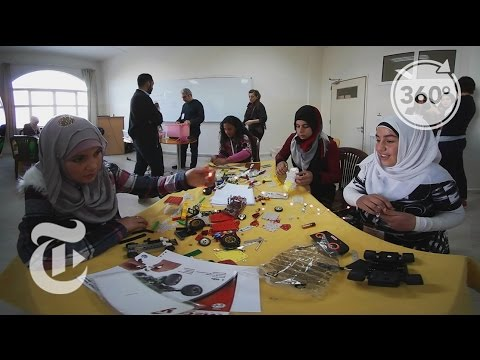 Syrian Girls Do Robotics | The Daily 360 | The New York Times