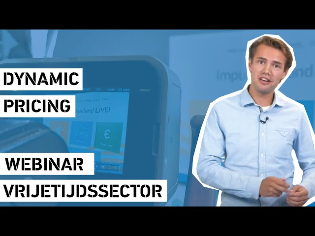 Webinar - Dynamic Pricing - Impuls Zeeland