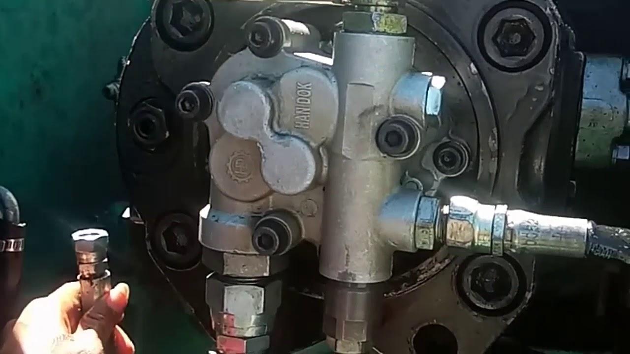 tahapan pasang pompa hidrolik dan rakit regulator bekas malpraktik