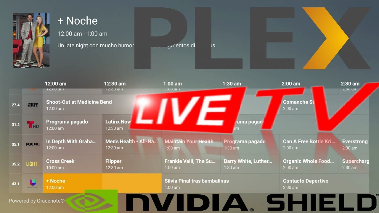 Plex Live TV Setup for Nvidia Shield - Access Local TV from Anywhere with  DVR