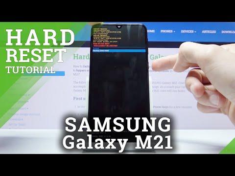 Hard Reset SAMSUNG Galaxy M21 – Wipe Data / Bypass Screen Lock