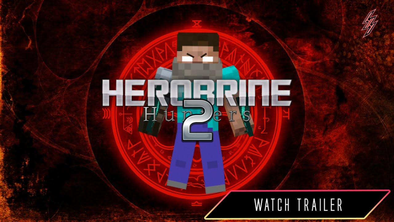 herobrine 🅷🆄🅽🆃🅴🆁🆂™【2】  trailer  minecraft film horor cz