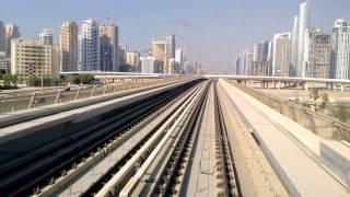 Dubai Metro Red Line Nakheel Harbour & Tower to Jumeirah Lake Towers