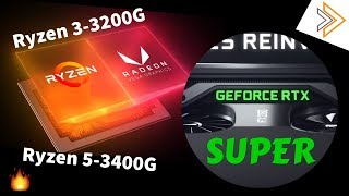 AMD's Hidden new CPUs - 3200G and 3400G & Nvdia RTX Super GPU [in HINDI]