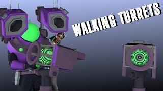 Walking Laser Turrets! | Risk of Rain 2 (Co-op) Engineer Skills 2.0