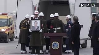 Cérémonie de commémoration et de rapatriement du corps de l'ambassadeur en Russie (Direct du 20.12)(, 2016-12-20T14:38:44.000Z)