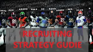 NCAA 14 RECRUITING GUIDE (DYNASTY MODE) (STRATEGY GUIDE)