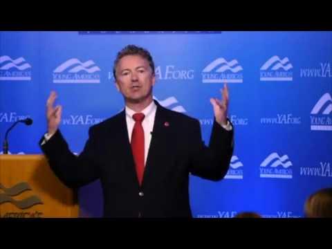 Rand Paul FULL Speech on Expanding Freedom | YAF Santa Barbara