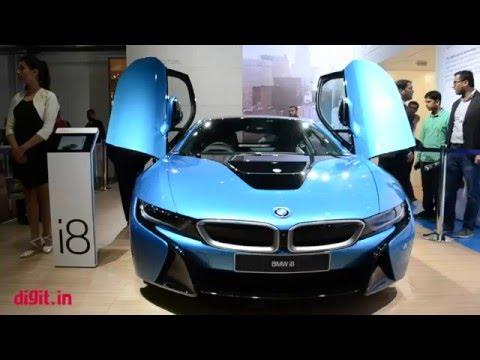 BMW i8 car tech
