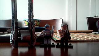 Lego minifig and Star Wars set review