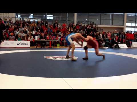 2015 Senior National Championships: 86 kg Nick Proctor vs. Tamerlan Tagziev