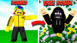 He BOTTED my GAME and got FREE ROBUX.. I can't believe this.. (Roblox)