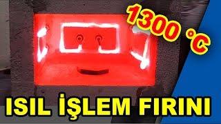 30 Liraya Kendin yap 1300 °C Bıçak Fırını, Seramik ve Metal Eritme Fırını