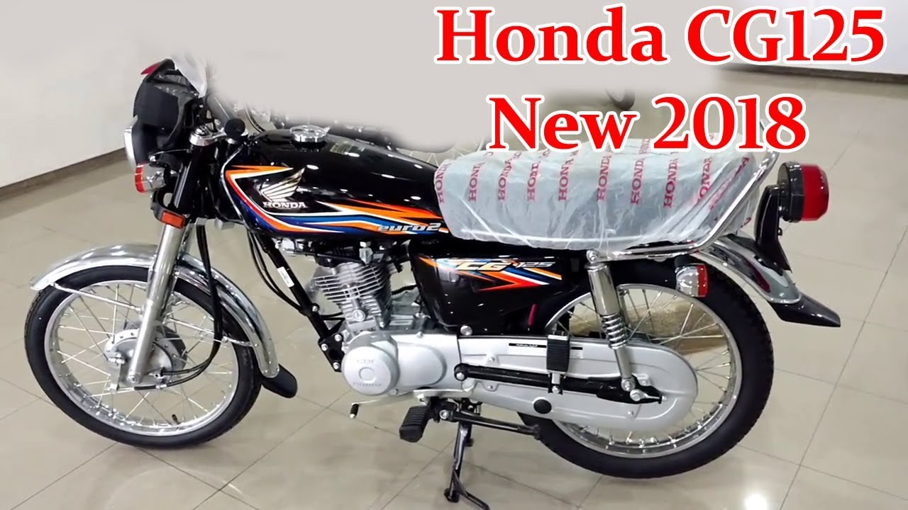 honda cg 125 new model 2018 black red full review on technical saifji [ 1280 x 720 Pixel ]