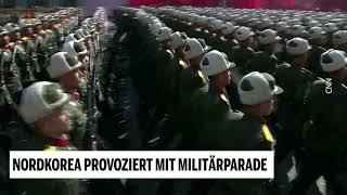 Nordkorea provoziert mit Militärparade