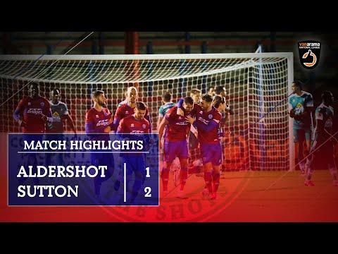 Aldershot Sutton Goals And Highlights