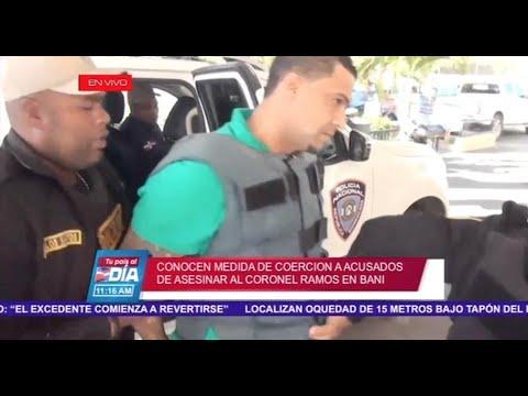 Conocen medida de Coerción a acusados de asesinar al coronel Ramos-Tu País al Día por Super Canal 33