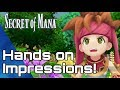 Secret of Mana PS4 Remake Preview Impressions