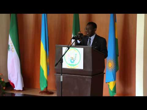 H.E TEODORO OBIANG NGUEMA MBASOGO IN RWANDA