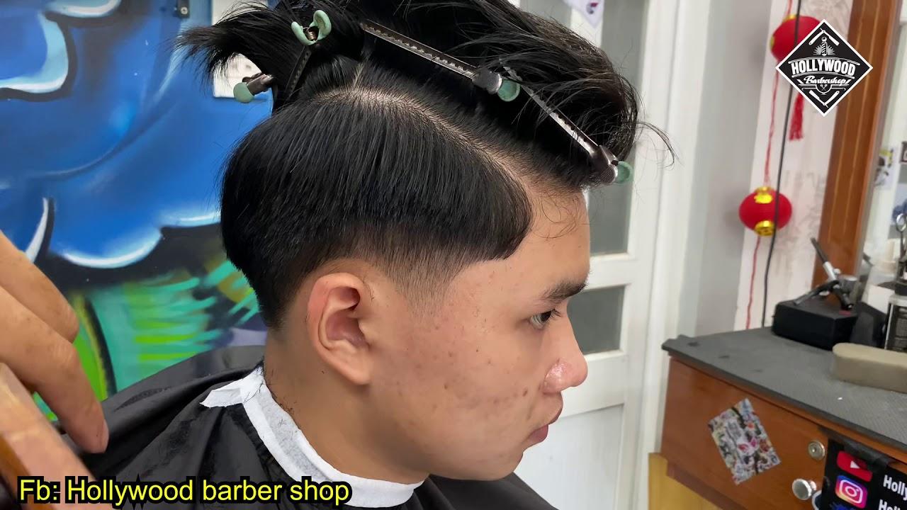 Chia sẽ cắt 7/3 cổ điển   side part tapper fade   Tổng quát những kiến thức liên quan đến tóc nam 7 3 chi tiết nhất