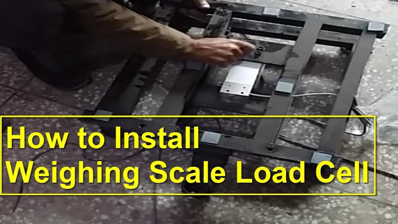 How to Install Load Cell - Installation of Weighing Scale Load Cell -  Digital Weighing Scale