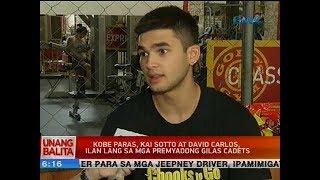 Kobe Paras, Kai Sotto at David Carlos, ilan lang sa mga premyadong Gilas cadets