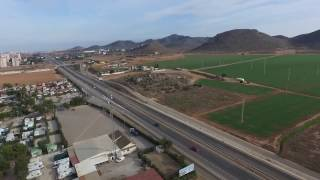 "Spain - ""Camping Caravaning La Manga"" campground - birdview"