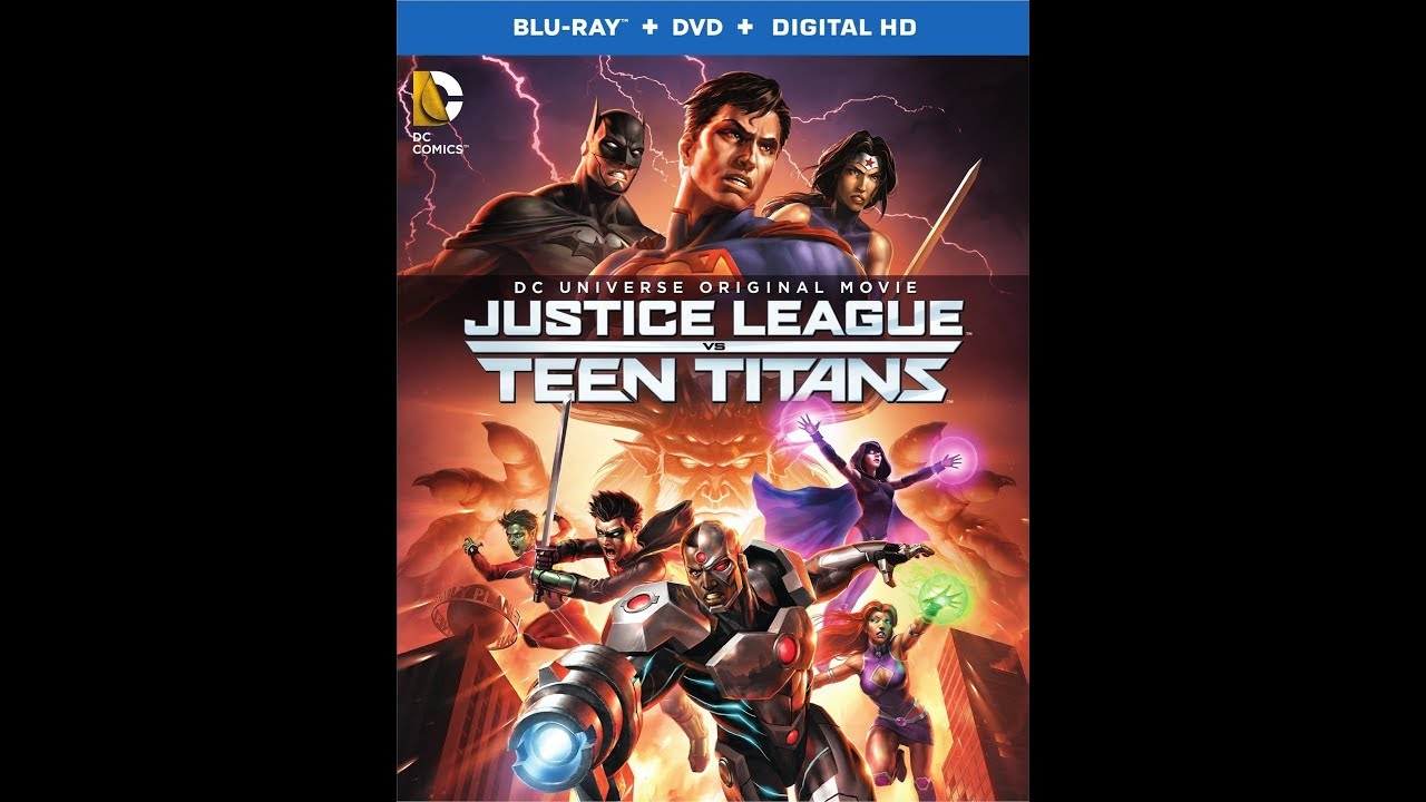 Download Trailers from Justice League vs. Teen Titans 2016 Blu-ray