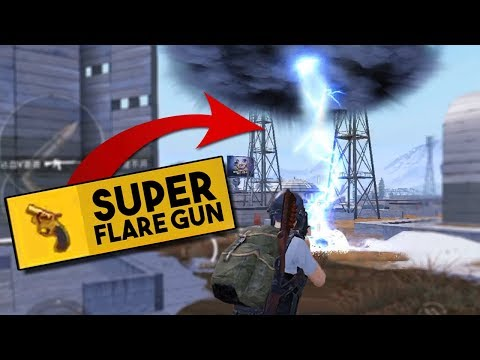 USING THE SUPER FLARE GUN! | YOU MUST SEE THIS! | PUBG Mobile