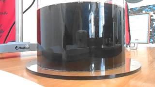 Перемешивание 2-х вязких жидкостей спиральным импеллером VJ