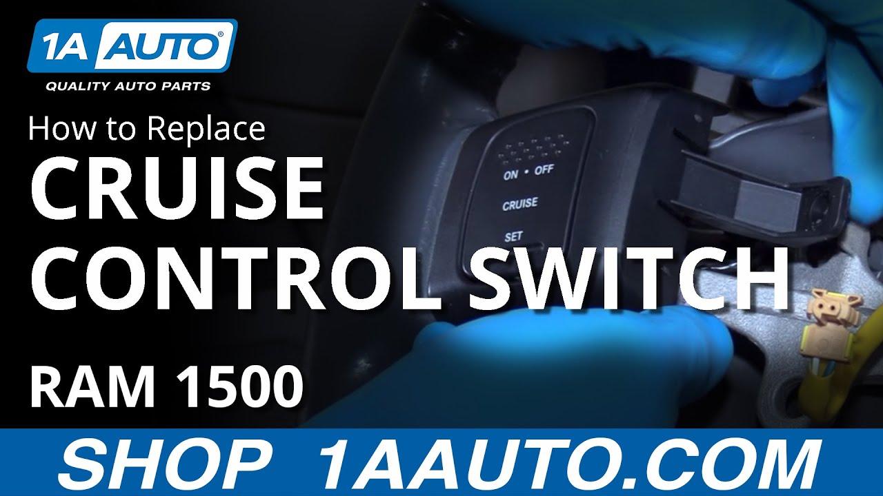 2008 Hyundai Sonata Wiring Diagram How To Replace Cruise Control Switches 02 08 Dodge Ram