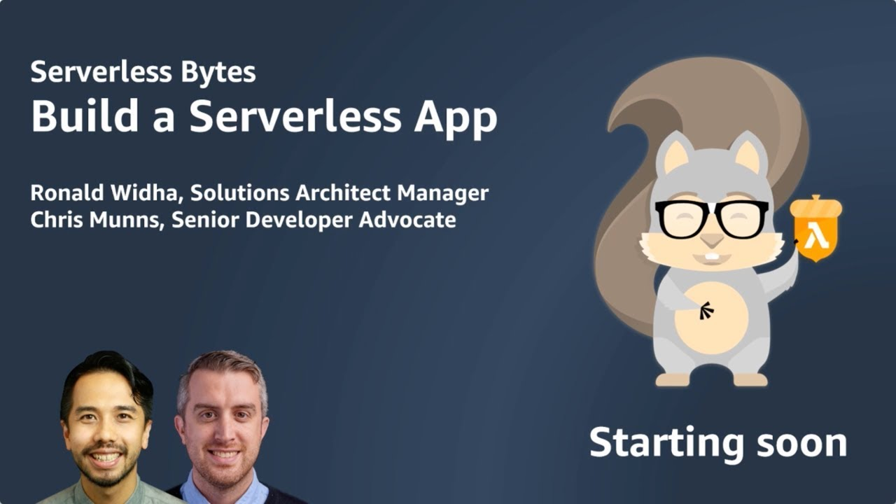 Serverless Bytes | Workshop on Building a Serverless App